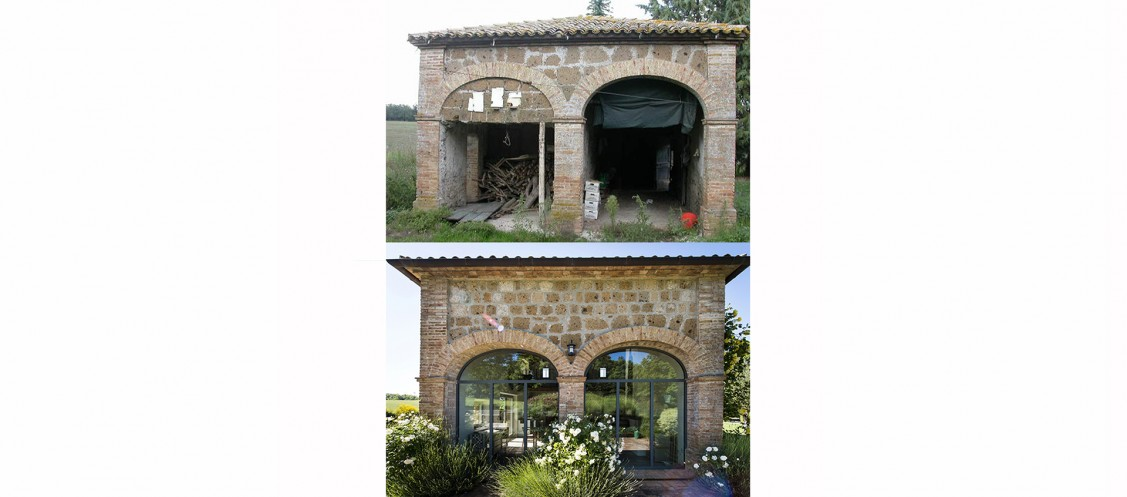Home renovation in Italy